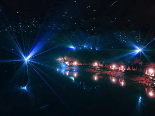 广西乐业天坑罗妹莲花洞溶洞灯光设计施工方案(图4)