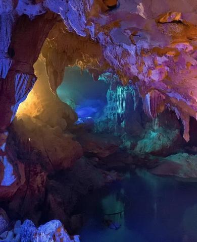 广西乐业天坑罗妹莲花洞溶洞灯光设计施工方案(图5)