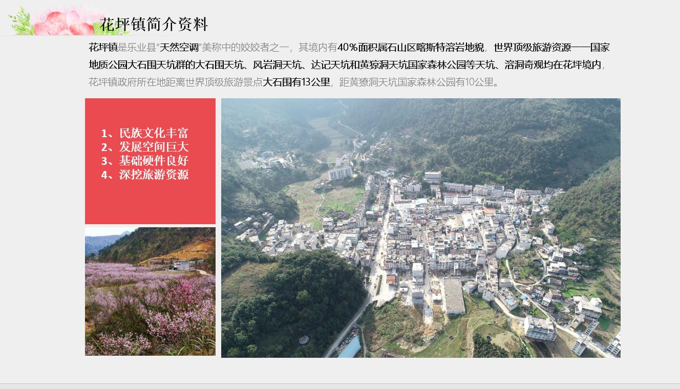 广西乐业兰花康养度假小镇规划设计(图3)